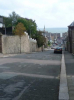 View down Evan Street in Stonehaven - towards the sea